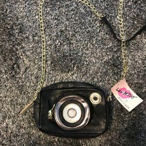 Betsey Johnson camera purse